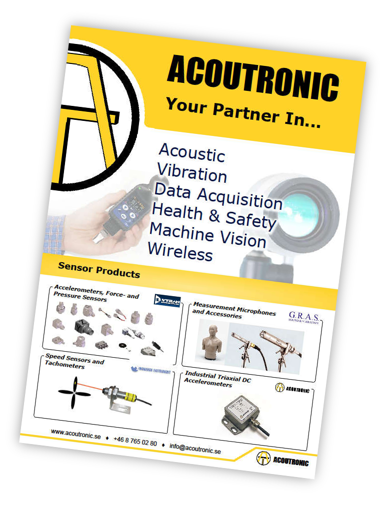 Acoutronic AB, Tachometers